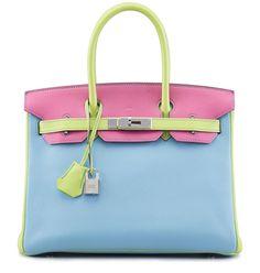 Hermes Birkin 30 Bag Vert Anis Chevre Phw