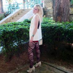 Evy-Dance / Le canal Saint-Martin / Paris  Veste - Coat : Zara Collants - Tights : Primark  Chaussures - shoes : Deichmann