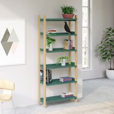 The Floyd Shelving System tall unit in ash offers a modern look that fits with any home. Ships straight to your doorstep. Made to grow with you. Aesthetic Room Decor, My New Room, Interiores Design, Room Inspiration, Shelving, Designer, Furniture Design, Furniture Ideas, Ikea