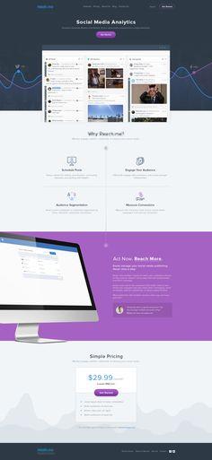 Social Mexia Analytics Website #webdesign
