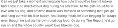 What if Maxon had a dog...