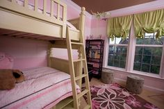 Pink and green girls room - contemporary - kids - dc metro - Pierre Jean-Baptiste Interiors