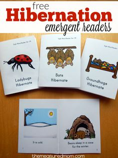 We love these free books about animals that hibernate! They're perfect for early readers in grades K-2.