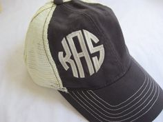 The sassy preppy trucker hat by ThePickleTree on Etsy, $20.00