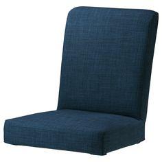HENRIKSDAL Chair cover - Skiftebo dark blue - IKEA