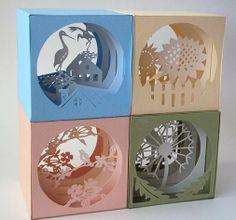 Cartões do dia do Professor artesanais ilustrações escultura de papel para ajudá-lo a concluir o tutorial manuais cartões do dia do professo...