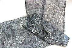 Hand Loomed Japanese Katazome Cotton. Aizome. by FurugiStar