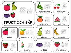 Teckenkartor – Fröken Ljusta Sign Language Book, Sign Language Phrases, All About Me Book, Learn Swedish, Swedish Language, French Worksheets, School Signs, Farm Theme, Pre School