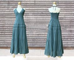 Hey, I found this really awesome Etsy listing at http://www.etsy.com/listing/121930937/long-greyish-blue-maxi-dress-unique
