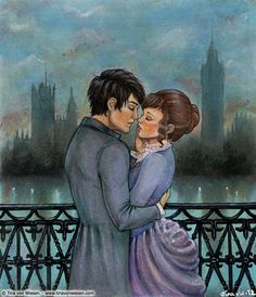 Tessa Gray and Will Herondale... the infernal devices