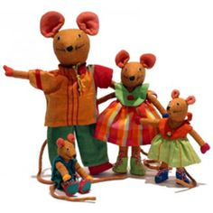 The lovable mice family by Barefoot