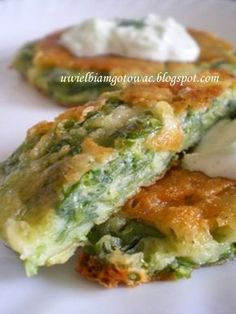 Chijimi - koreańskie placki ze szpinaku Easy Healthy Recipes, Vegetarian Recipes, Kitchen Recipes, Cooking Recipes, Chard Recipes, Breakfast Dishes, Food Inspiration, Appetizer Recipes, Food To Make