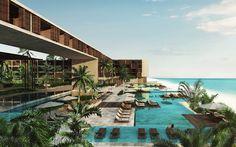Grand Hyatt Playa del Carmen, Riviera Maya, Mexico – in pictures