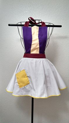 Aladdin Inspired Woman's Apron. Look like the street rat himself in this cute apron! #aladdin #disney #apron