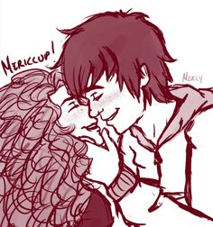 Mericcup  they would be so cute! But NOT Jack and Merida (Jerida?)