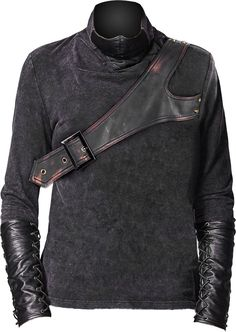 Punk Rave men's top with mask http://www.the-black-angel.com/gothic-longsleeves-men/1276-punk-rave-mask-top.html
