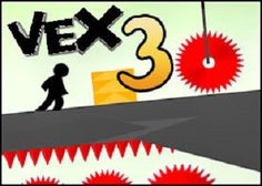 Vex 3 Game  Play as the stickman with 10 standard stages and 9 challenge stages in Vex 3 game.  http://vex3game.com/
