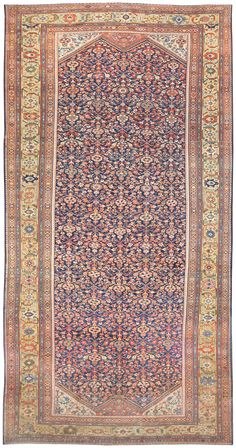 Antique Persian Sultanabad Rug 50145