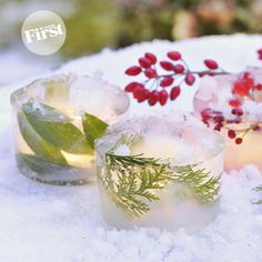 Nicely Icy Candle Cups | First for Women