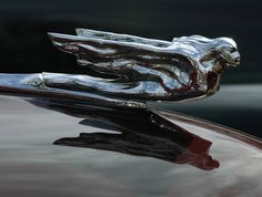 Hood ornament - flying lady