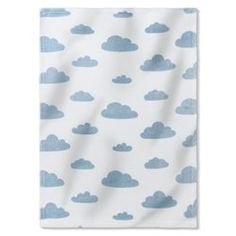 Fleece Baby Blanket with Cloud Print R baby - Linen la Redoute £12.75