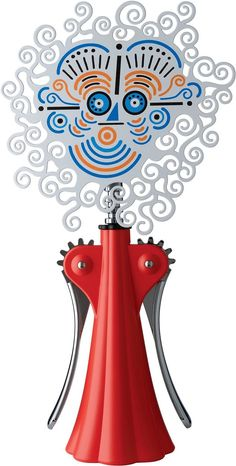 Anna G 20th Anniversary Limited Edition Corkscrew By Alessi (Red)