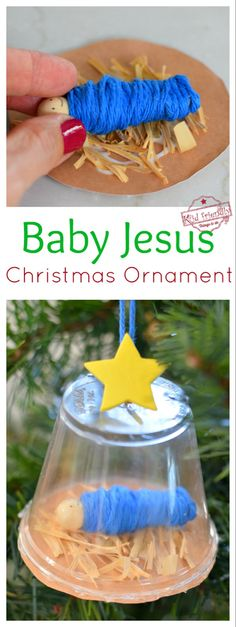 Nativity Ornament for Kids to Make   Kid Friendly Things To Do