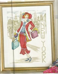 New York lady - Joan Elliott