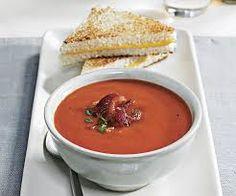Smoky Tomato-Bacon Soup