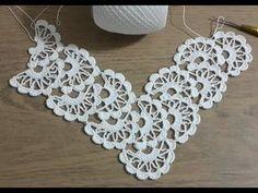 Crochet Knitting Lace Pattern Making, Showcase Set & Crohet Part 2 - Stricken Filet Crochet, Col Crochet, Crochet Lace Edging, Crochet Motifs, Crochet Borders, Crochet Braids, Lace Knitting, Irish Crochet, Crochet Shawl