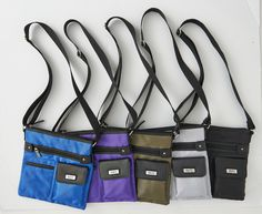 708577 Roots Cross Body Nylon Bags
