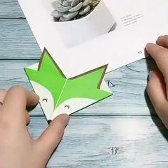 Diy Crafts Hacks, Diy Crafts For Gifts, Diy Home Crafts, Diy Arts And Crafts, Creative Crafts, Cool Paper Crafts, Paper Crafts Origami, Diy Paper, Fun Crafts