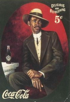 coca-cola vintage african-american advertising - I found this in post card format in a second hand store