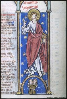 Psalter-Hours, MS M.94 fol. 3r - Images from Medieval and Renaissance Manuscripts - The Morgan Library & Museum
