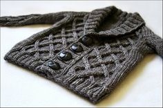 Ravelry: Project Gallery for Gramps Cardigan pattern by Kate Oates