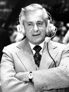 Long time Red Sox announcer Curt Gowdy