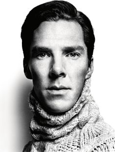 Benedict Cumberbatch<<<<<<< do you know what this sweater is made of? Boyfriend material :)