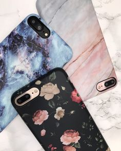 Dark Rose Geode Smoked Coral Case for iPhone 7 & iPhone 7 Plus from Elemental Cases