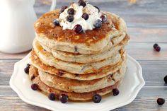 Saskatoon Berry Pancakes