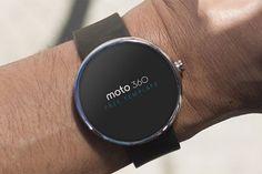 Moto 360 Free Mockups