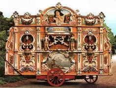 Draaiorgels- Dutch Street organs are mechanical musical instruments. There is no player behind the keyboard, but the instruments are played by a moving music pattern. Sometime you can still see them on the street, but most likely you will find draaiorgels in the museum