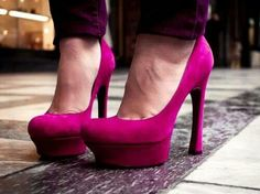 Loved them from the start!!!pink my colour!  ;)
