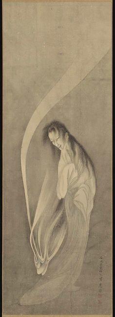 Maruyama Okyo. Ghost. 1779