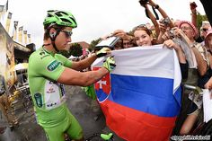 2014 tour-de-france photos stage-19-Peter Sagan (Cannondale) and his Slovakia fans