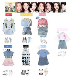 """CLC - NO OH OH❤💛💙💚💜"" by mabel-2310 on Polyvore featuring Lazy Oaf, Chicnova Fashion, Yves Saint Laurent, J.W. Anderson, Moschino Cheap & Chic, MSGM, Manish Arora, Prabal Gurung, Sandy Liang and Vans"