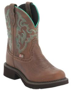 Justin Gypsy Boots Tan Jaguar. My first pair of legit cowgirl boots. Can't wait to take them on my next ride!