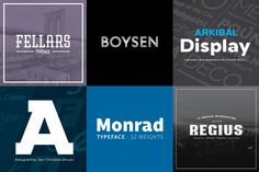 Bundle by JC DESIGN- 6 fonts 40% Off by @Graphicsauthor
