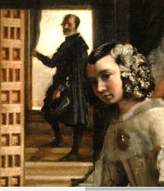 Diego Velázquez, Details from Las Meninas (1656)