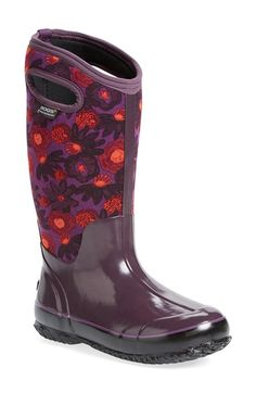 Bogs  Watercolor  Waterproof Snow Boot with Cutout Handles (Women) Ski  Fashion d3a2ac339