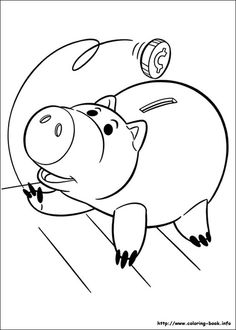 mr potato head toy story colouring pages  Clip Art  Pinterest